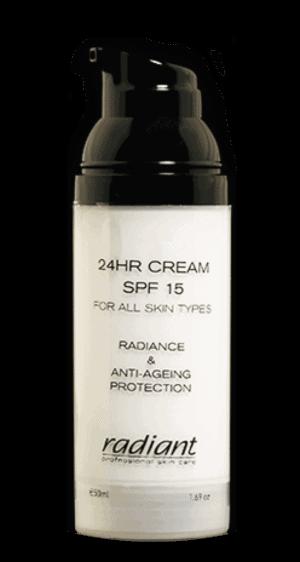 Radiant 24Hrs Cream SPF15 50ml